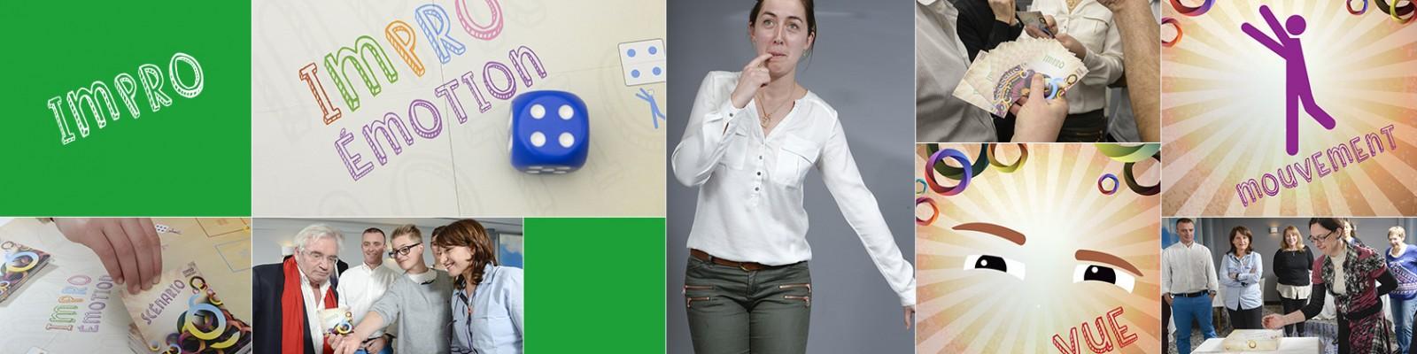 Carte Impro du jeu de société créer par le docteur Régine Zekri-Hurstel
